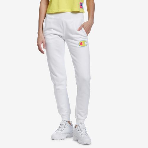 Front View of Champion Women's Reverse Weave Joggers