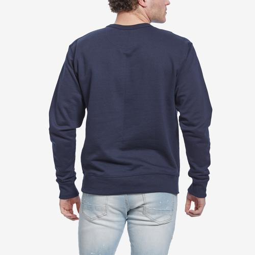 Champion Men's Powerblend Script Crew Sweatshirt