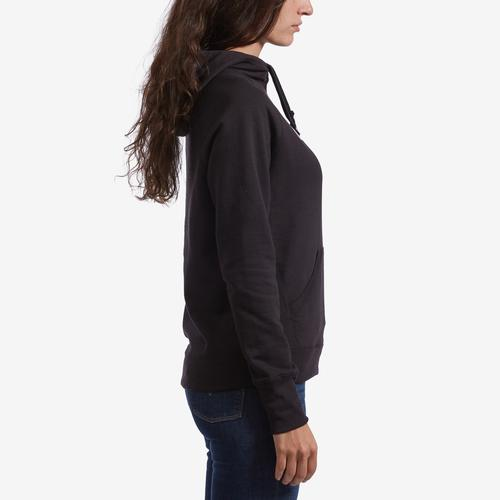 Right Side View of Champion Women's Graphic Powerblend Hoodie