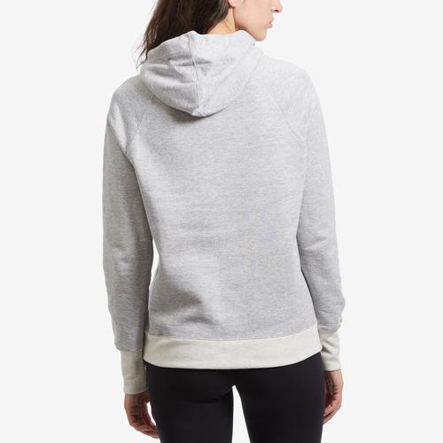 Back View of Champion Women's Applique Powerblend Hoodie