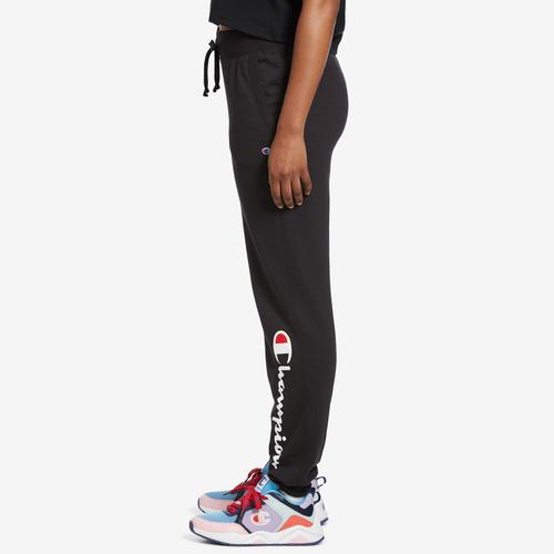 Left Side View of Champion Women's Powerblend Jogger
