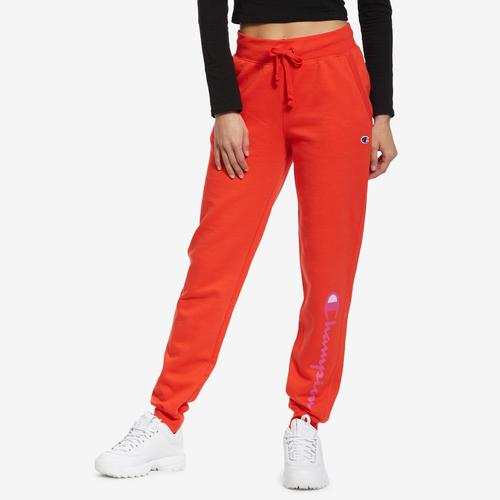 Front View of Champion Women's Powerblend Jogger