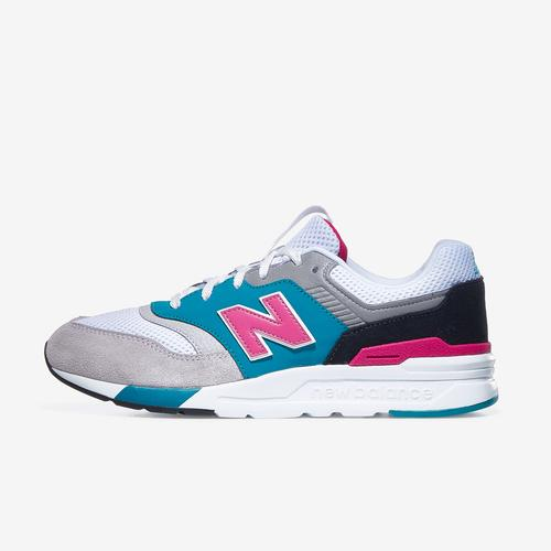 Left Side View of New Balance Boy's Grade School 997H Sneakers