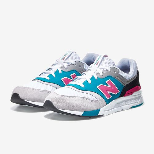 Side Angle View of New Balance Boy's Grade School 997H Sneakers