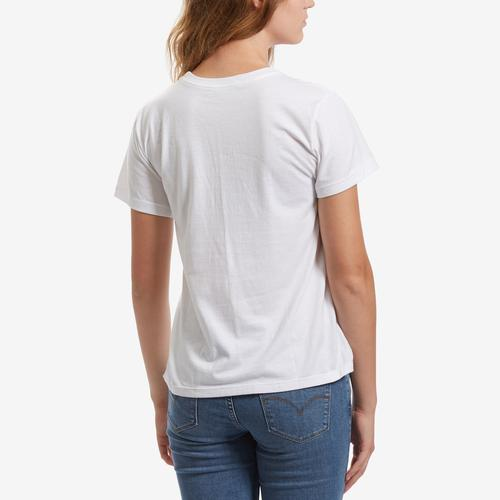 Back View of Champion Women's Graphic Jersey Short Sleeve T-Shirt