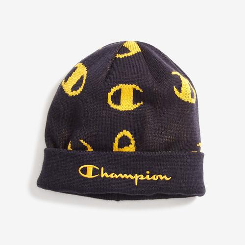 Front Right View of Champion Script Beanie