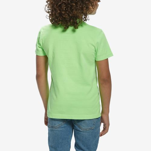 Back View of Guess Girl's Logo Tee