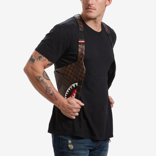 Back view of Sprayground Side Sharks in Paris Holster