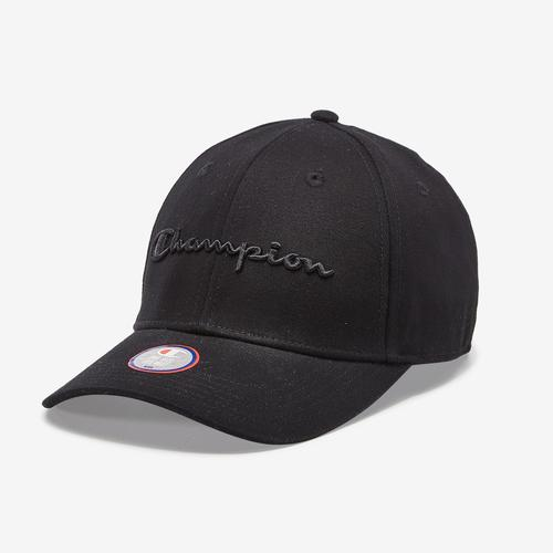 Front Right View of Champion Life Classic Twill Hat, Script Logo