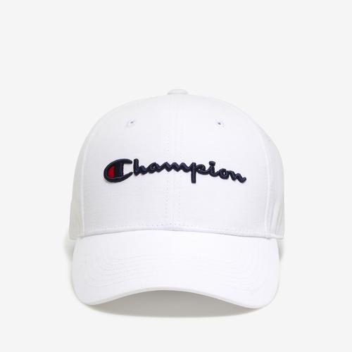 Front View of Champion Life Classic Twill Hat, Script Logo