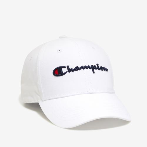 Front Left view of Champion Life Classic Twill Hat, Script Logo