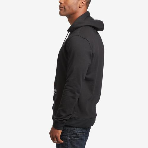 Left Side View of Hudson Men's Slasher Bear Hoodie