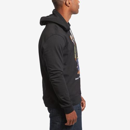 Right Side View of Hudson Men's Slasher Bear Hoodie