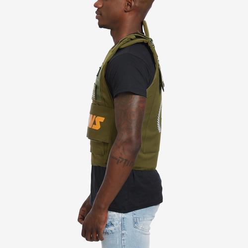 Left Side View of Hudson Men's Icons Vest