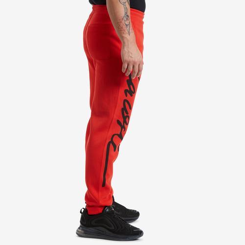 Right Side View of Lacoste Men's Unisex LIVE Signature Textured Fleece Sweatpants
