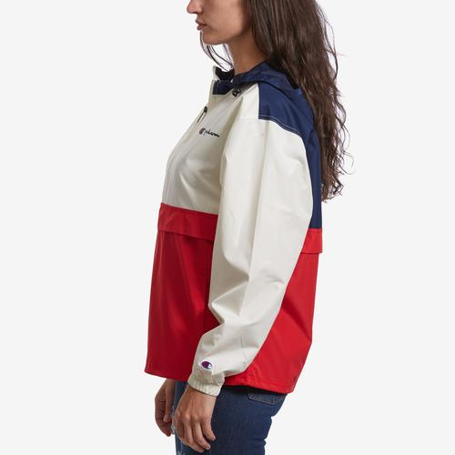 Left Side View of Champion Women's Packable Jacket