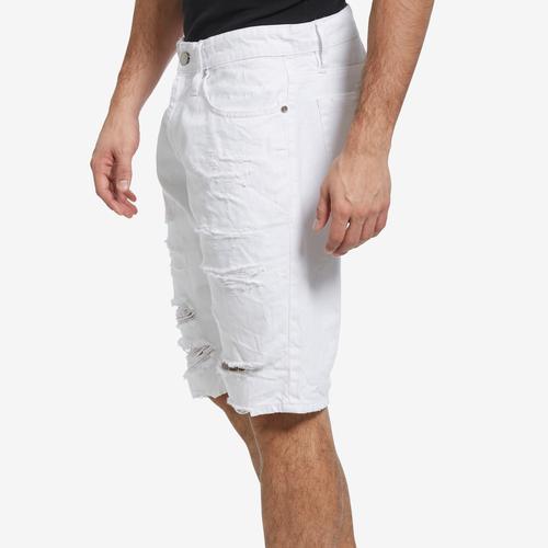 Right Side View of Jordan Craig Men's Belmar Denim Shorts