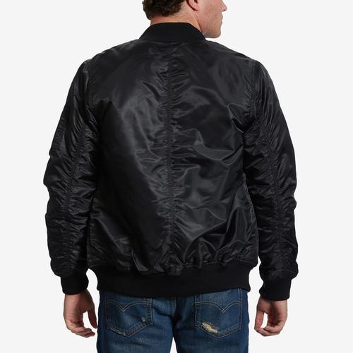 Bleeker & Mercer Men's Classic Bomber Jacket