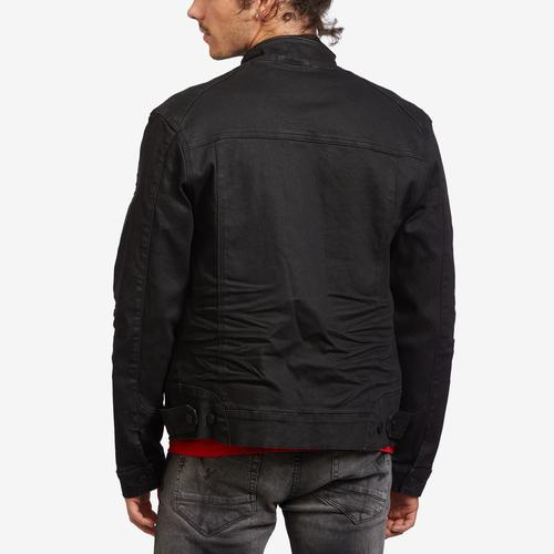 Smoke Rise Men's Moto Denim Jacket
