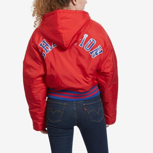 Champion Life Filled Fashion Jacket With Block Logo