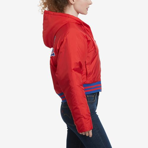 Right Side View of Champion Women's Life Filled Fashion Jacket With Block Logo