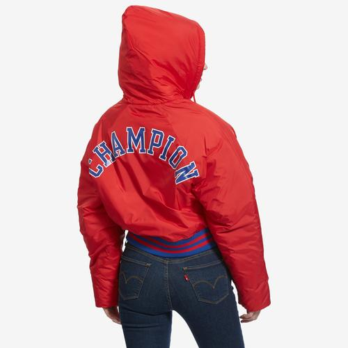 Alternate View of Champion Women's Life Filled Fashion Jacket With Block Logo