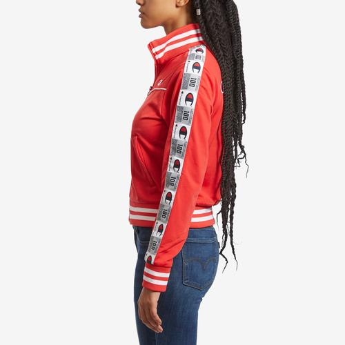 Left Side View of Champion Women's Life Tricot Track Jacket