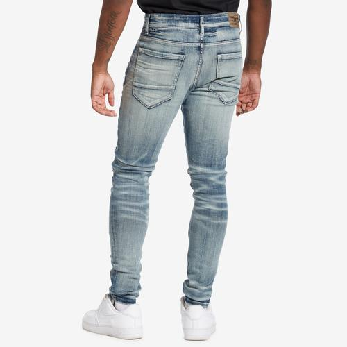 Back View of Jordan Craig Men's Sean-Reno Denim