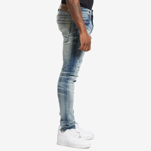 Right Side View of Jordan Craig Men's Sean-Reno Denim