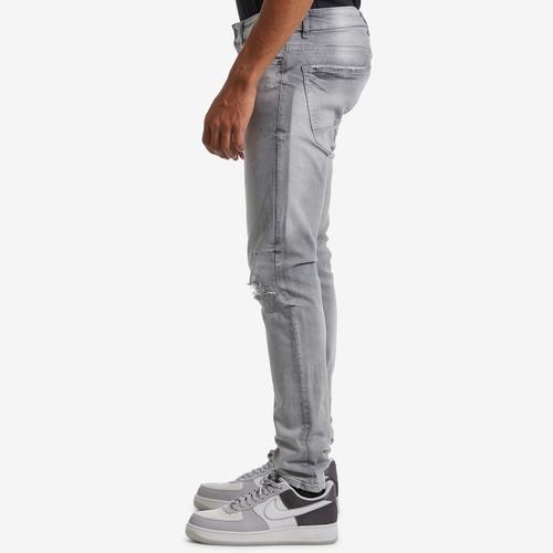 Left Side View of Jordan Craig Men's Sean-Asbury Denim