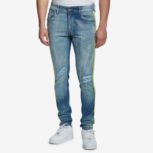 Jordan Craig Men's Striped Denim Jeans