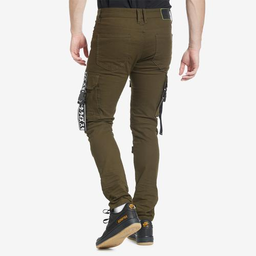Smoke Rise Cargo Pants With Straps