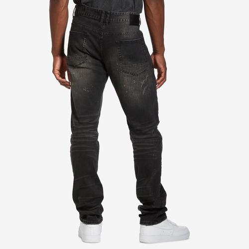 Smoke Rise Men's 5 Pocket Blast Denim Jeans