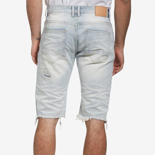 Smoke Rise Men's Basic Rip Off Denim Shorts