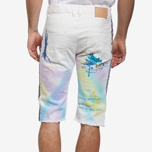 Smoke Rise Men's Fashion Graffiti  Shorts