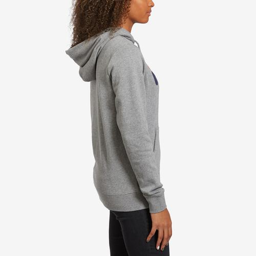 Right Side View of FILA Women's Lucy Pullover Hoodie