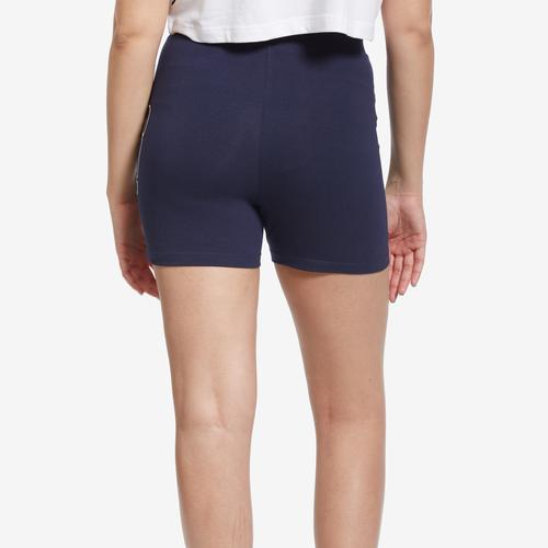 Back View of FILA Women's Beatriz High Waist Bike Shorts