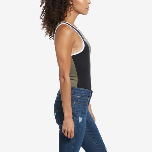 Left Side View of FILA Women's Manon Bodysuit