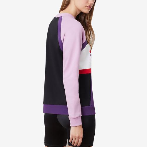 FILA Woman's Emi Color Block Sweatshirt