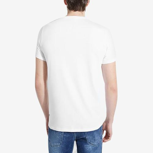 Guess Men's Race Logo Crewneck Tee