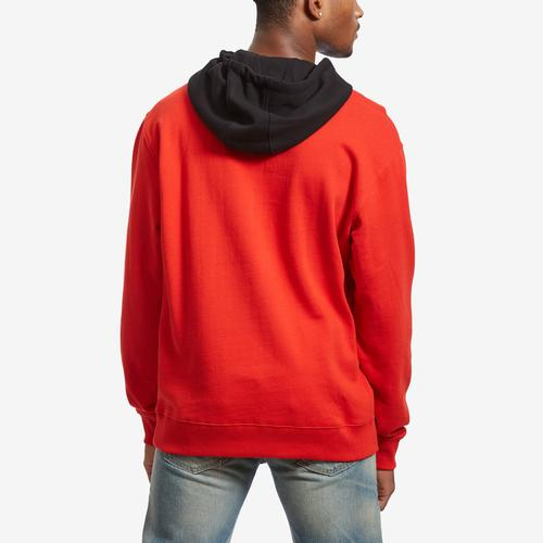 Guess Men's Roy Color-Block Logo Hoodie