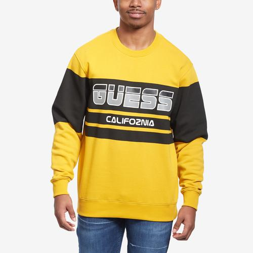 Front View of Guess Men's Roy Guess Sport Sweatshirt