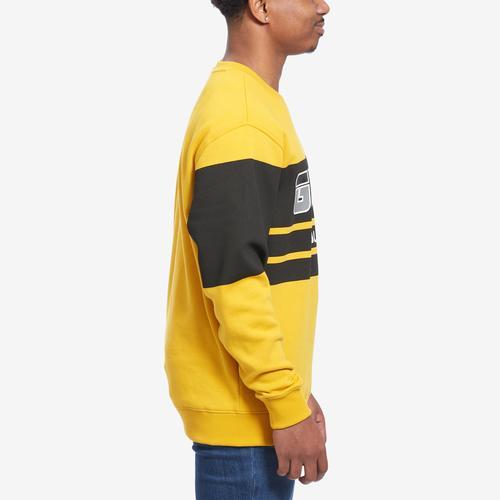 Left Side View of Guess Men's Roy Guess Sport Sweatshirt