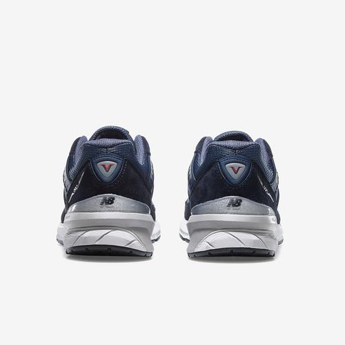 Back View of New Balance Men's 990 v5 Sneakers