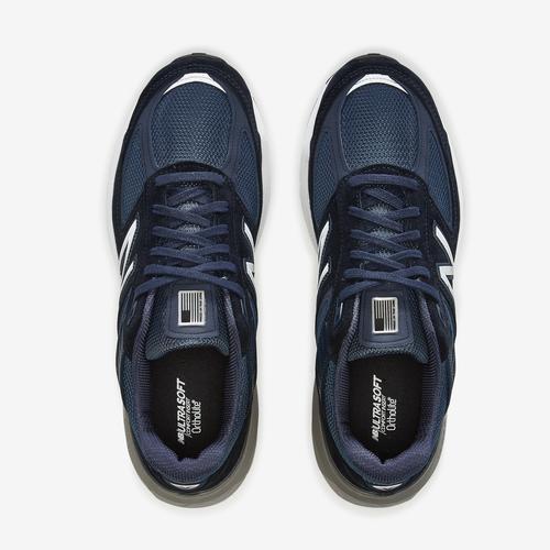 Bottom View of New Balance Men's 990 v5 Sneakers