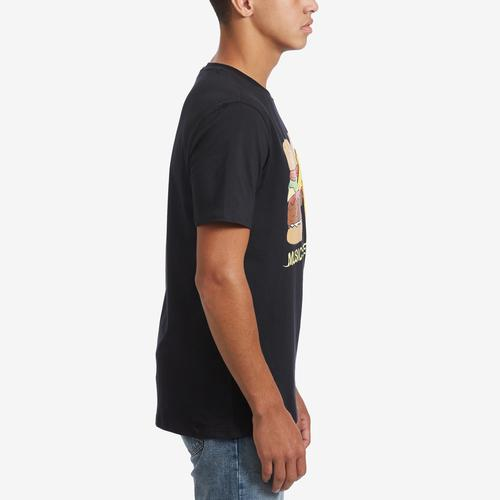 Right Side View of Freeze Men's MTV Burger T-Shirt
