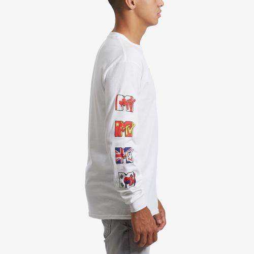 Right Side View of Freeze Men's Long Sleeve MTV T-Shirt