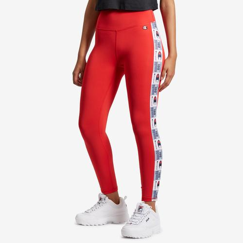 Front View of Champion Women's High-Waisted Tights