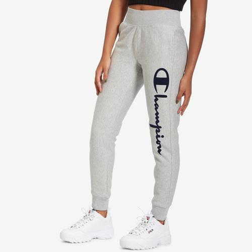 Front View of Champion Women's Life Reverse Weave Joggers