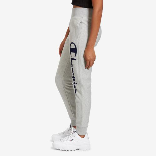 Left Side View of Champion Women's Life Reverse Weave Joggers